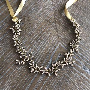 Gold Jewel Hair Piece